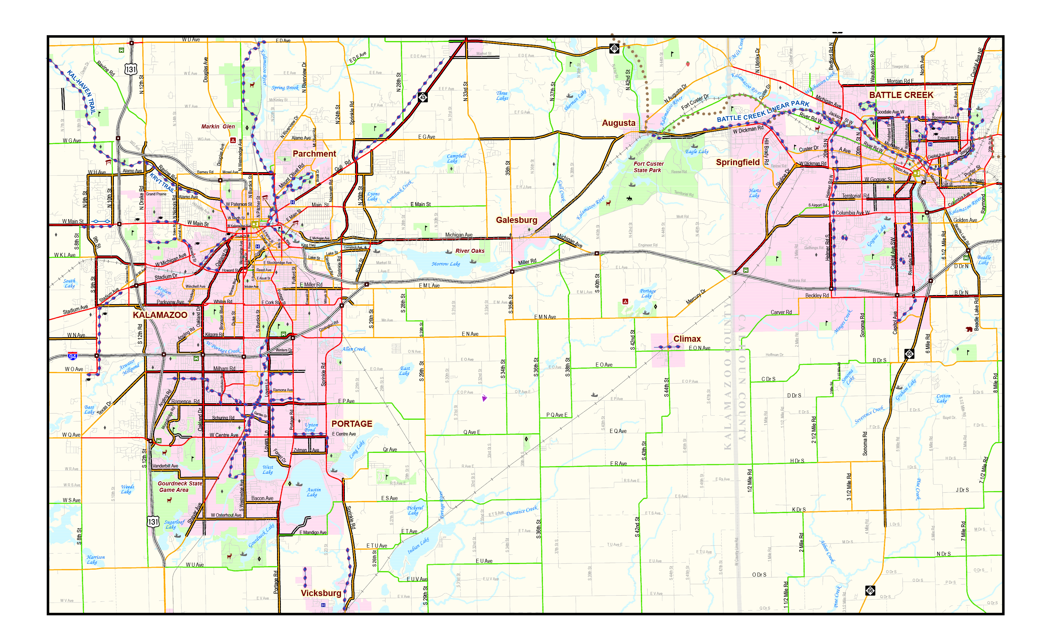 Swmpc Sw Mi Non Motorized Map And Plan