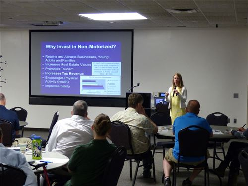 Presentation by Marcy Hamilton, SWMPC [Click here to view full size picture]