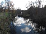 Ox Creek near Highland Avenue in Benton Harbor [Click here to view full size picture]