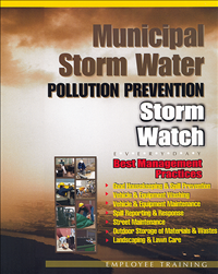 Municipal Storm Water Training Video is available to use.  [Click here to view full size picture]